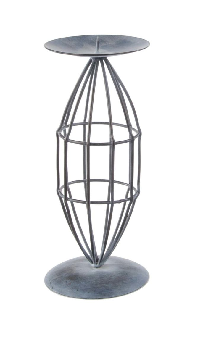 Kerzenhalter rund Metal II / candle holder round metal II
