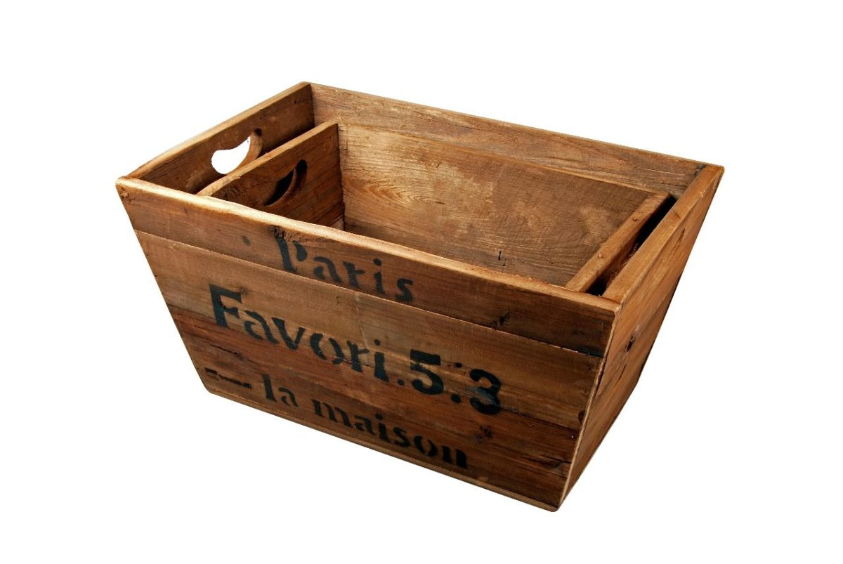 Holztragerl 3 / wooden crate 3