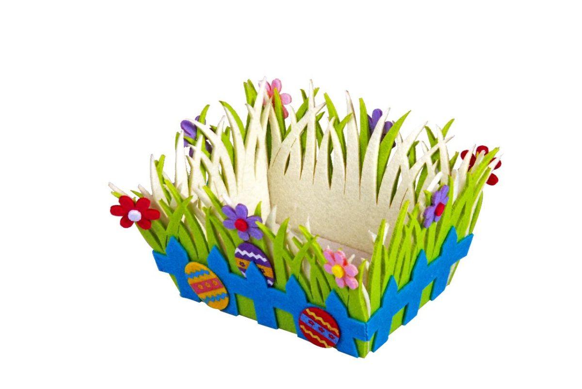 Filztasche Frühling / spring felt bag