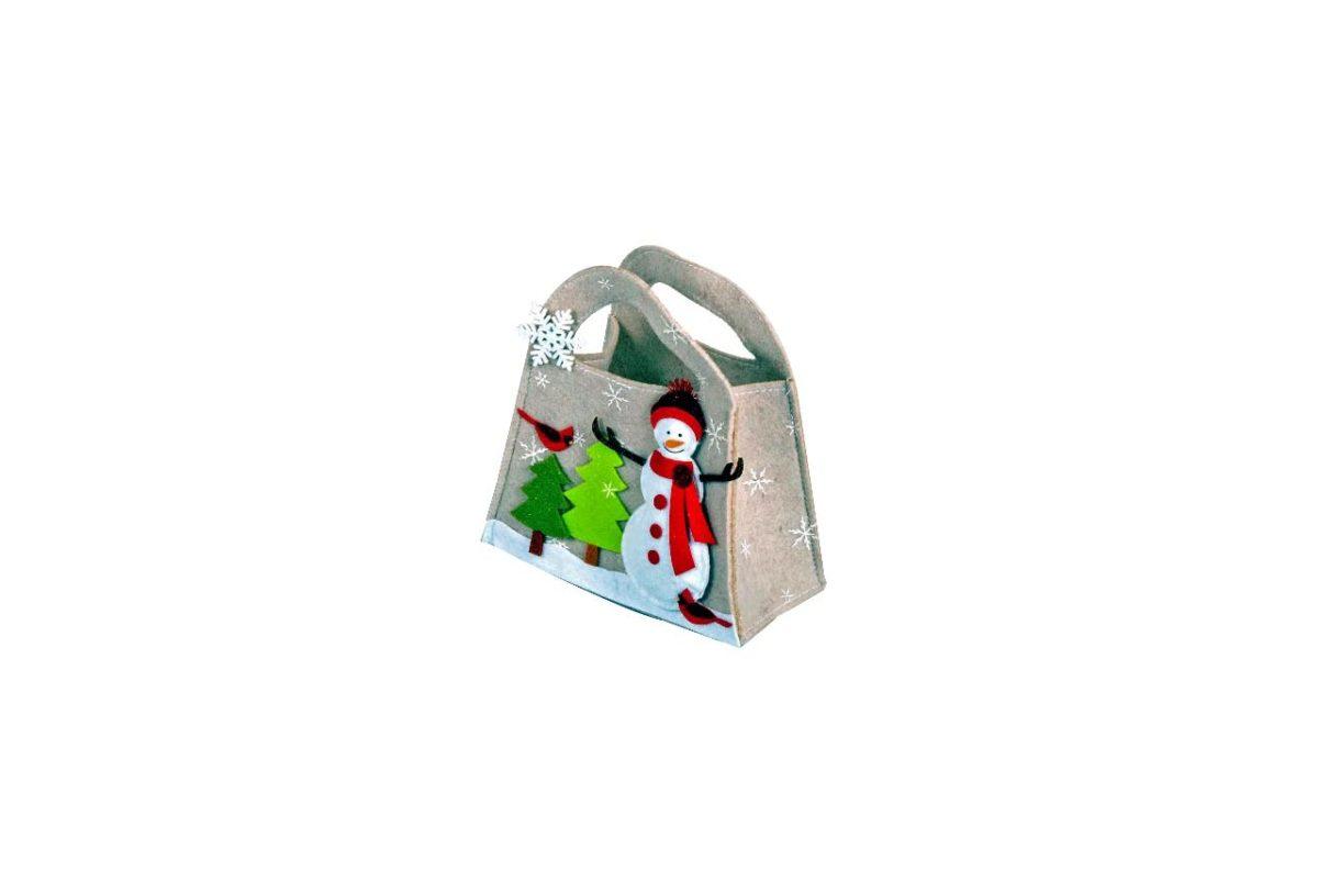 Filztasche Weihnachten / christmas felt bag